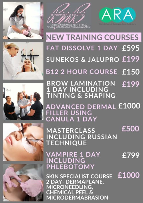 New Training Courses